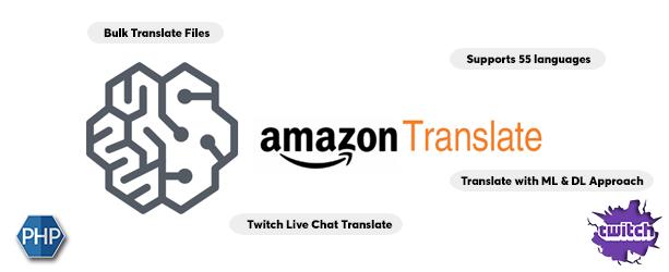 AWS Amazon Translate - Neural Machine Translation Service - 1